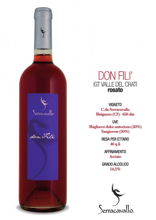 DonFiliSerracavallo rosato